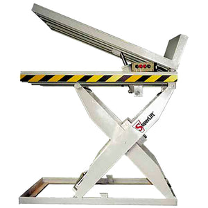Stainless Steel Scissor Lift And Tilt Table - Superlift Material Handling