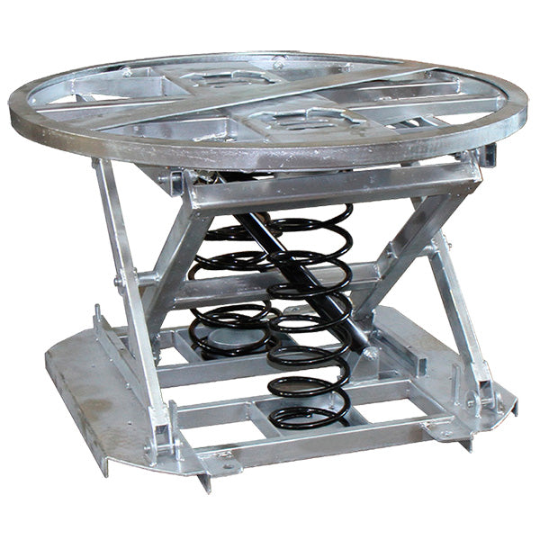 Stainless Steel Spring Loaded Pallet Positioner/Pallet Loader - Superlift Material Handling