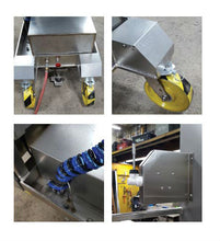 Load image into Gallery viewer, Stainless Steel Air Powered Manlift - Superlift Material Handling