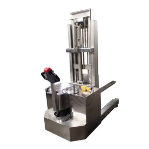 Stainless Steel Movable Mast Reach Truck