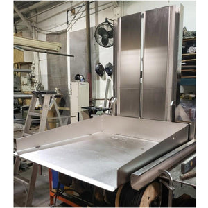 Stainless Steel Ground Level Mezzanine Column Lift