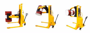 Semi-Automatic Paper Roll Lifter and Rotator - Superlift Material Handling