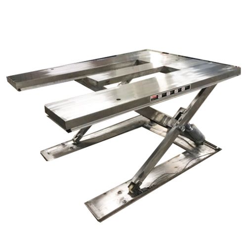 "Stainless Steel ""E"" Low Profile Lift Table"