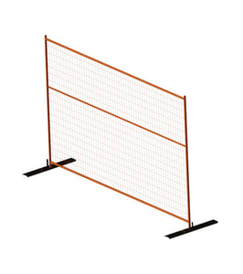 Inter-locking Portable Fencing