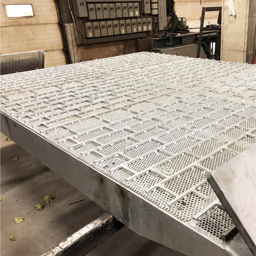 Powered Galvanized Ramp