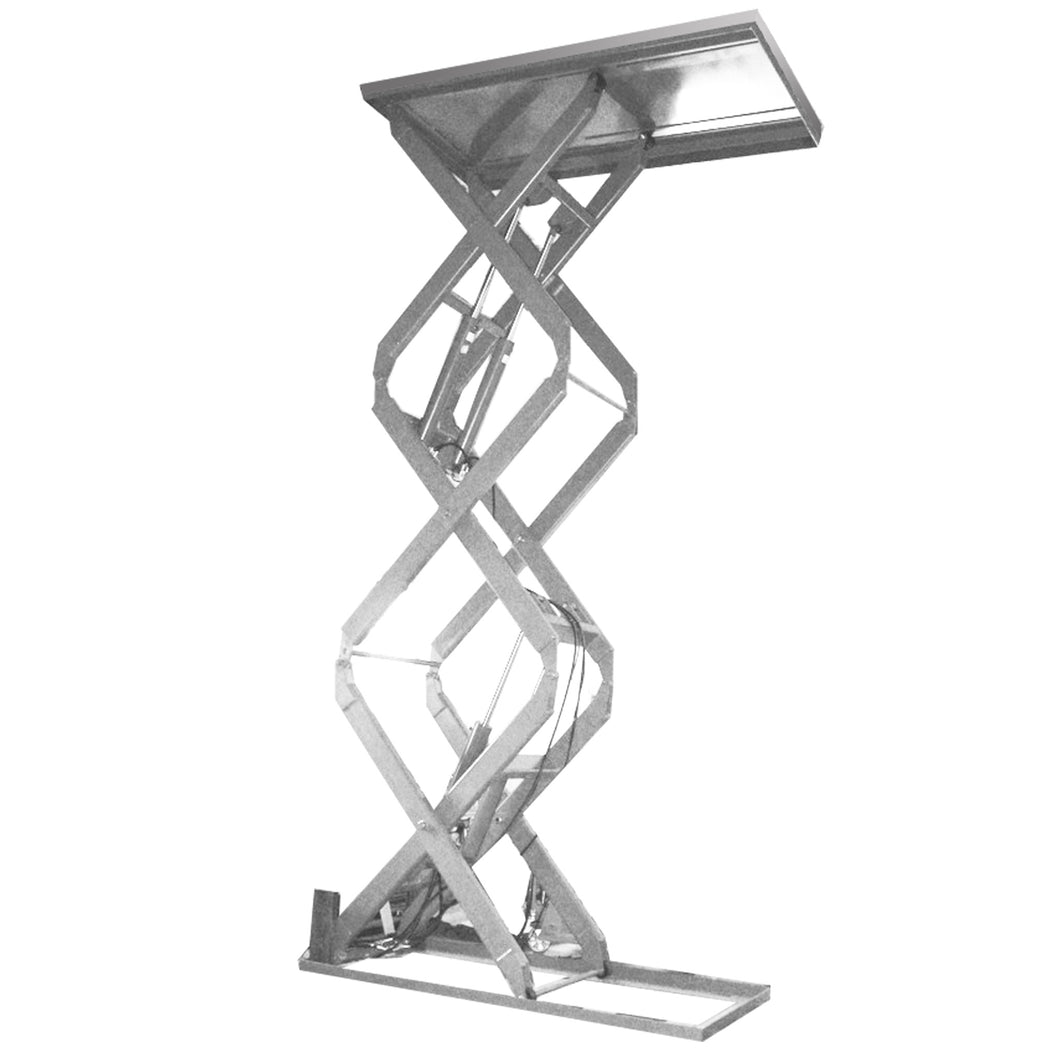 Stainless Steel Triple Scissors Lift Tables