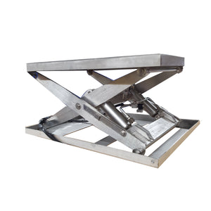 Stainless Steel Wash Down Lift Table