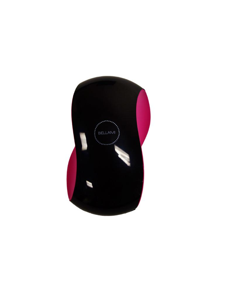 BELLAMI Detangler - Small (Black/Pink)