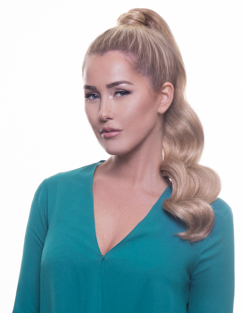 "BELLAMI It's A Wrap Ponytail 20"" 100g  Dirty Blonde (#18) Human Hair"