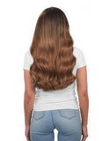 "KHALEESI 280g 20"" Chestnut Brown (6) Hair Extensions"