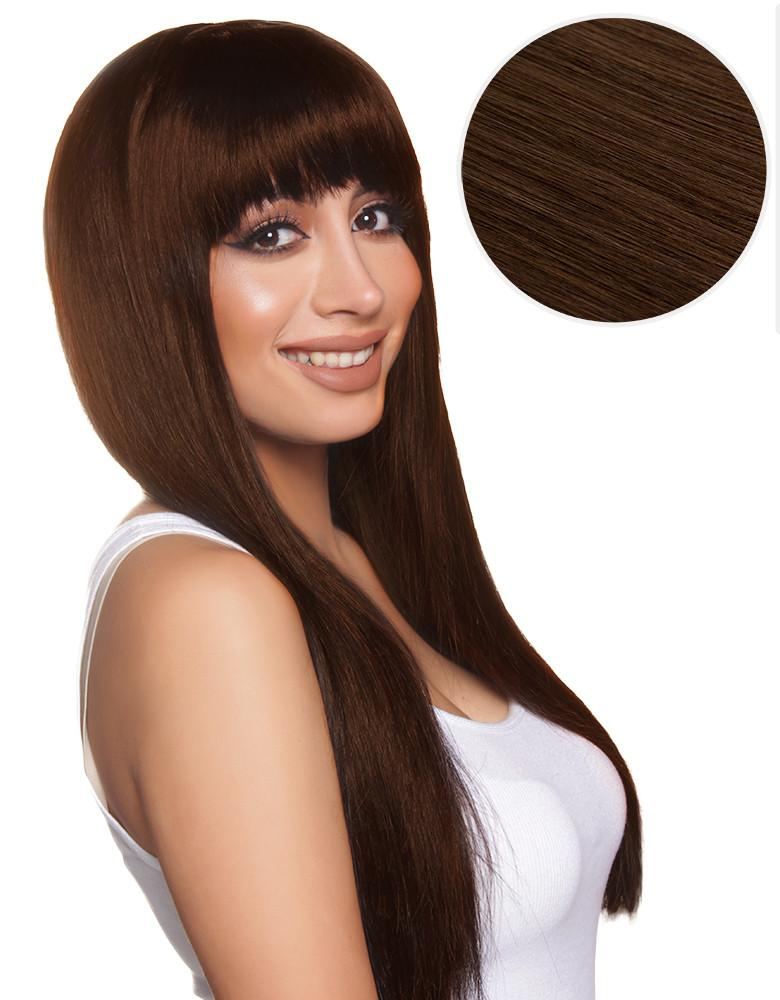 Cleopatra Clip In Bangs Chocolate Brown (4)