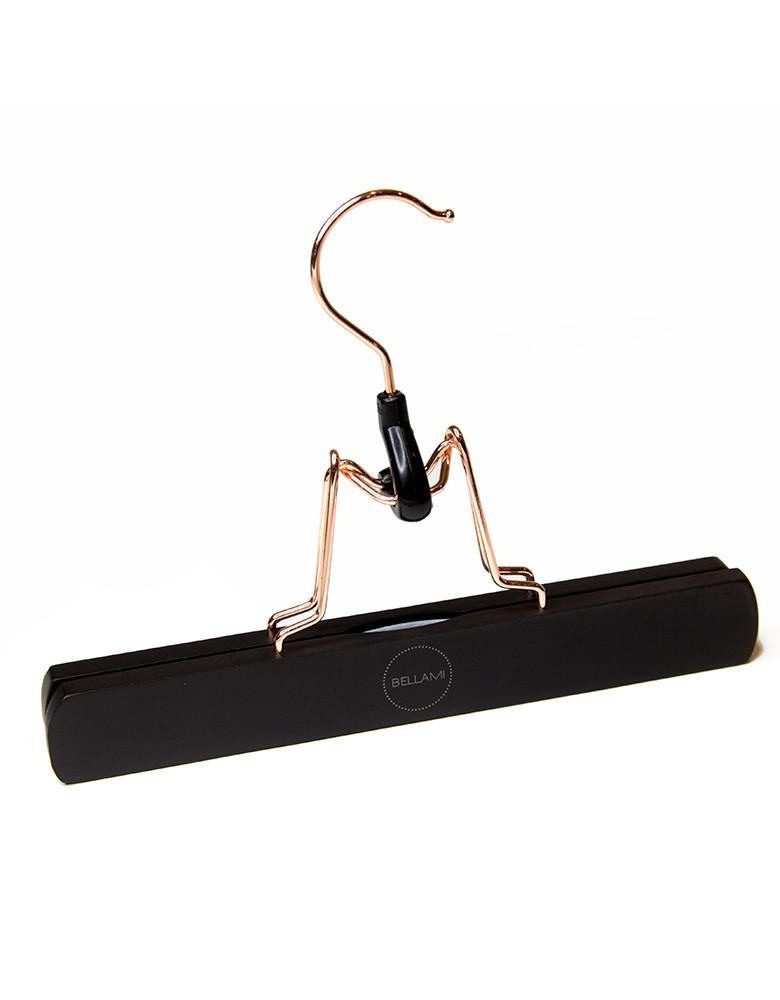 BELLAMI HAIR Extensions Hanger - Black (Rose Gold Logo)