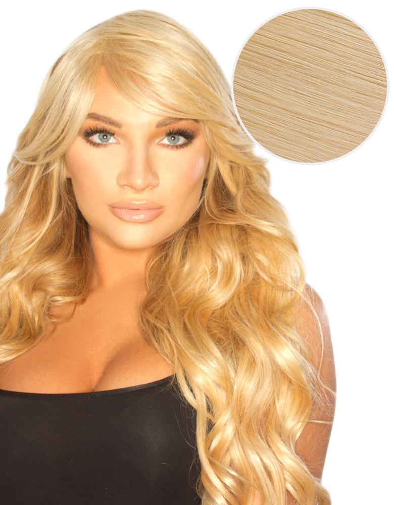 Side Swept Clip In Bangs Ash Blonde (60)