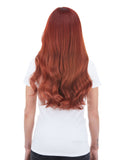 "KHALEESI 280g 20"" Vibrant Red (33) Hair Extensions"