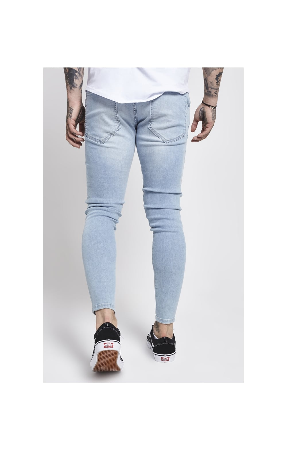 SikSilk Skinny Denim – Light Blue (3)