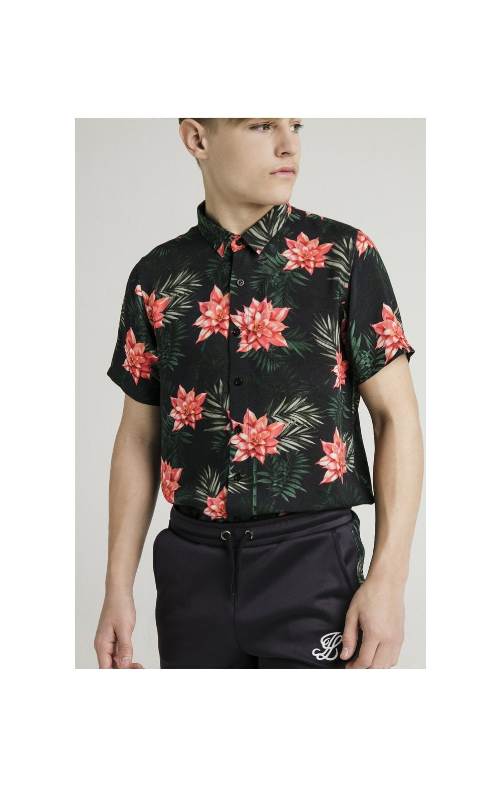 Illusive London Resort Shirt - Navy Floral