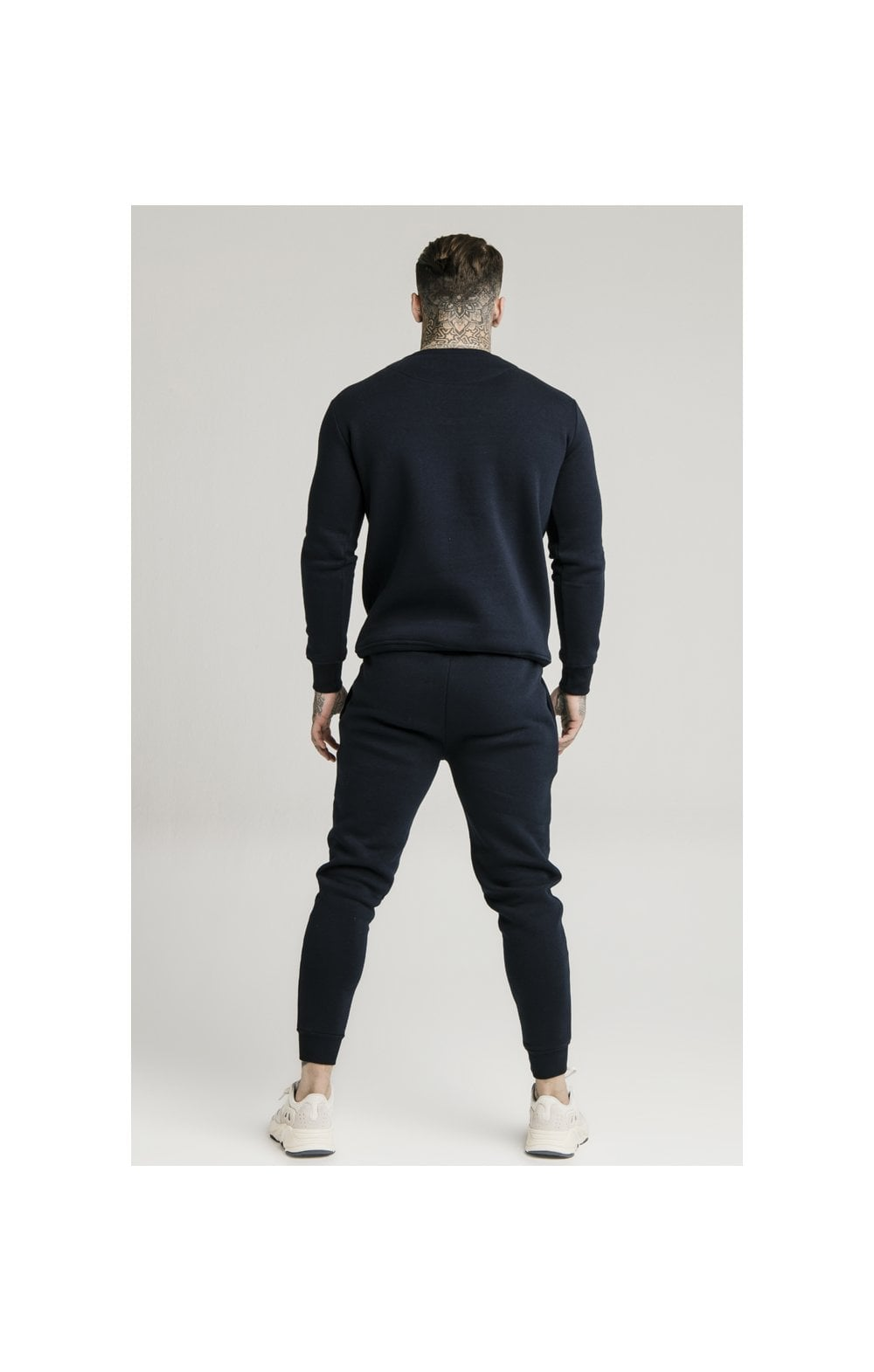 Load image into Gallery viewer, SikSilk Crew Sweat - Navy (5)