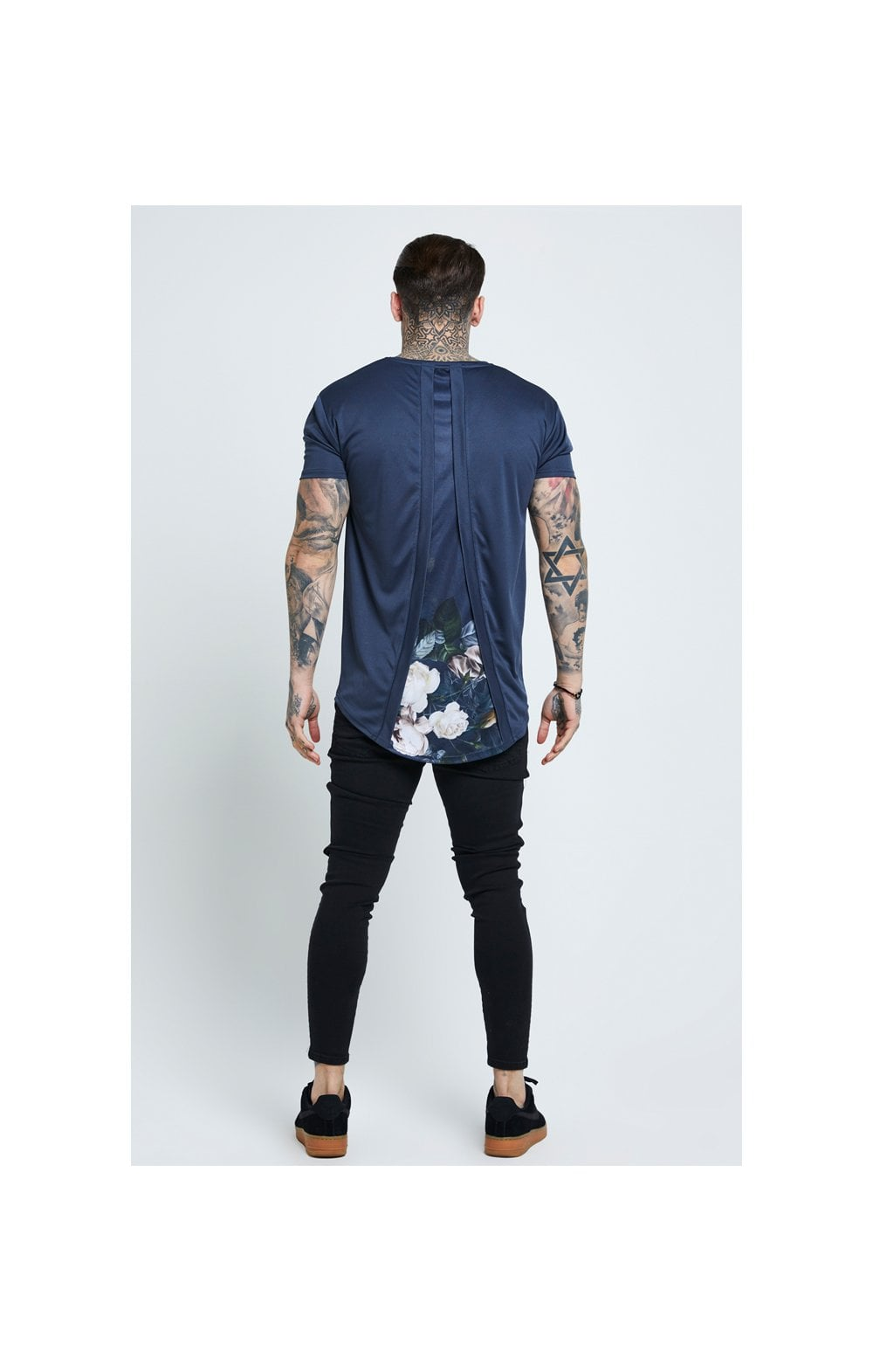 Load image into Gallery viewer, SikSilk Distressed Skinny Jeans – Black (6)