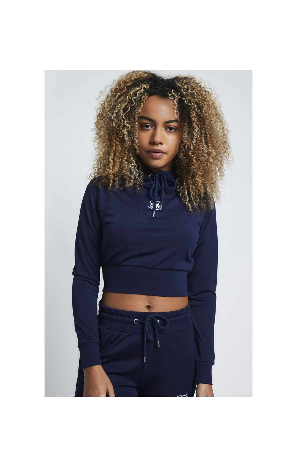SikSilk Zonal Track Top – Navy (1)