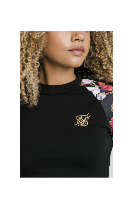 SikSilk L/S Starlight Tee - Black