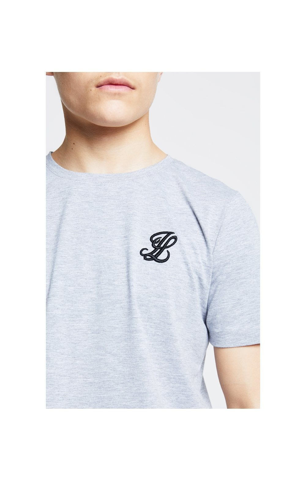 Illusive London Tee – Grey Marl