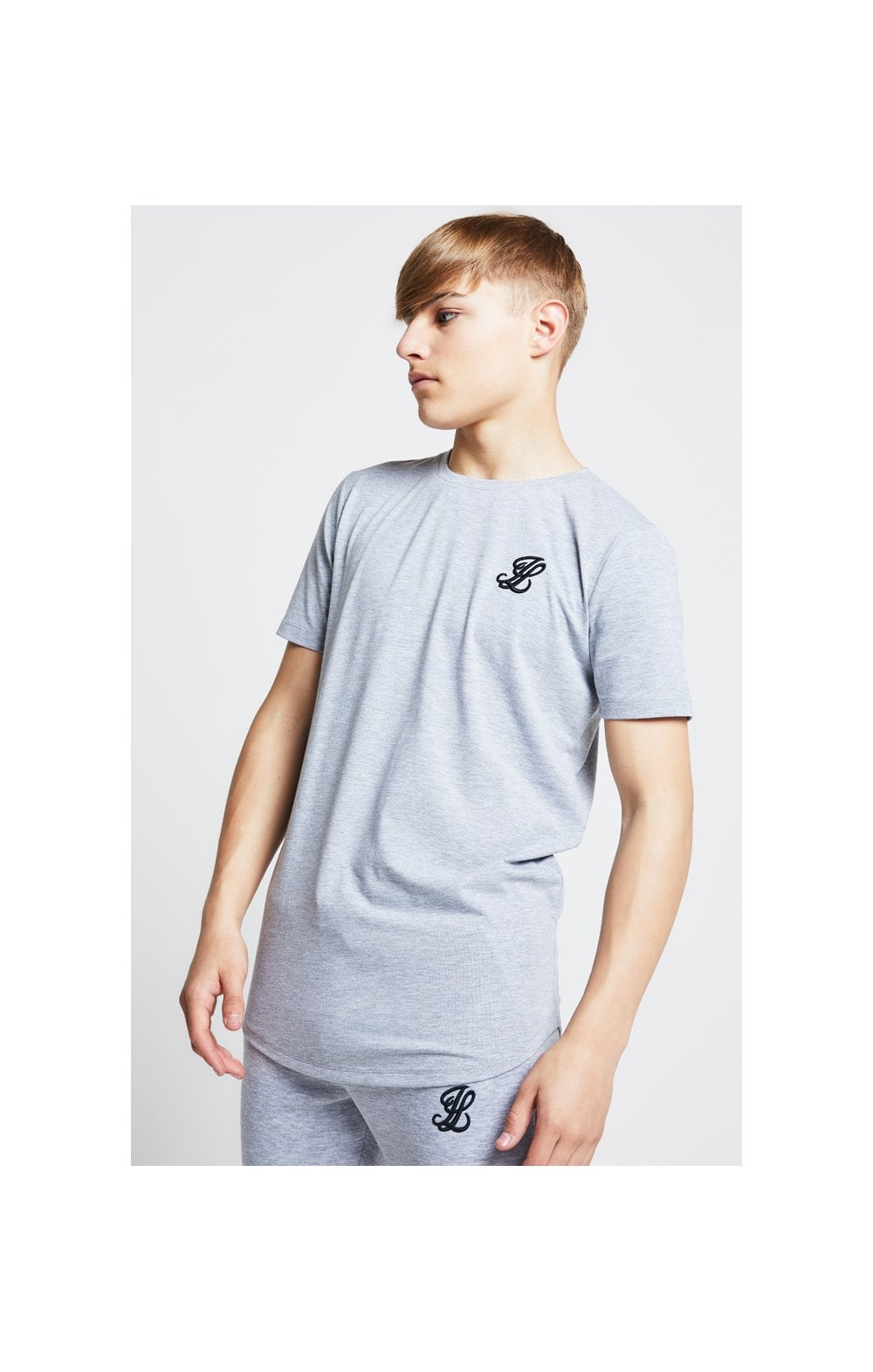 Illusive London Tee – Grey Marl (1)