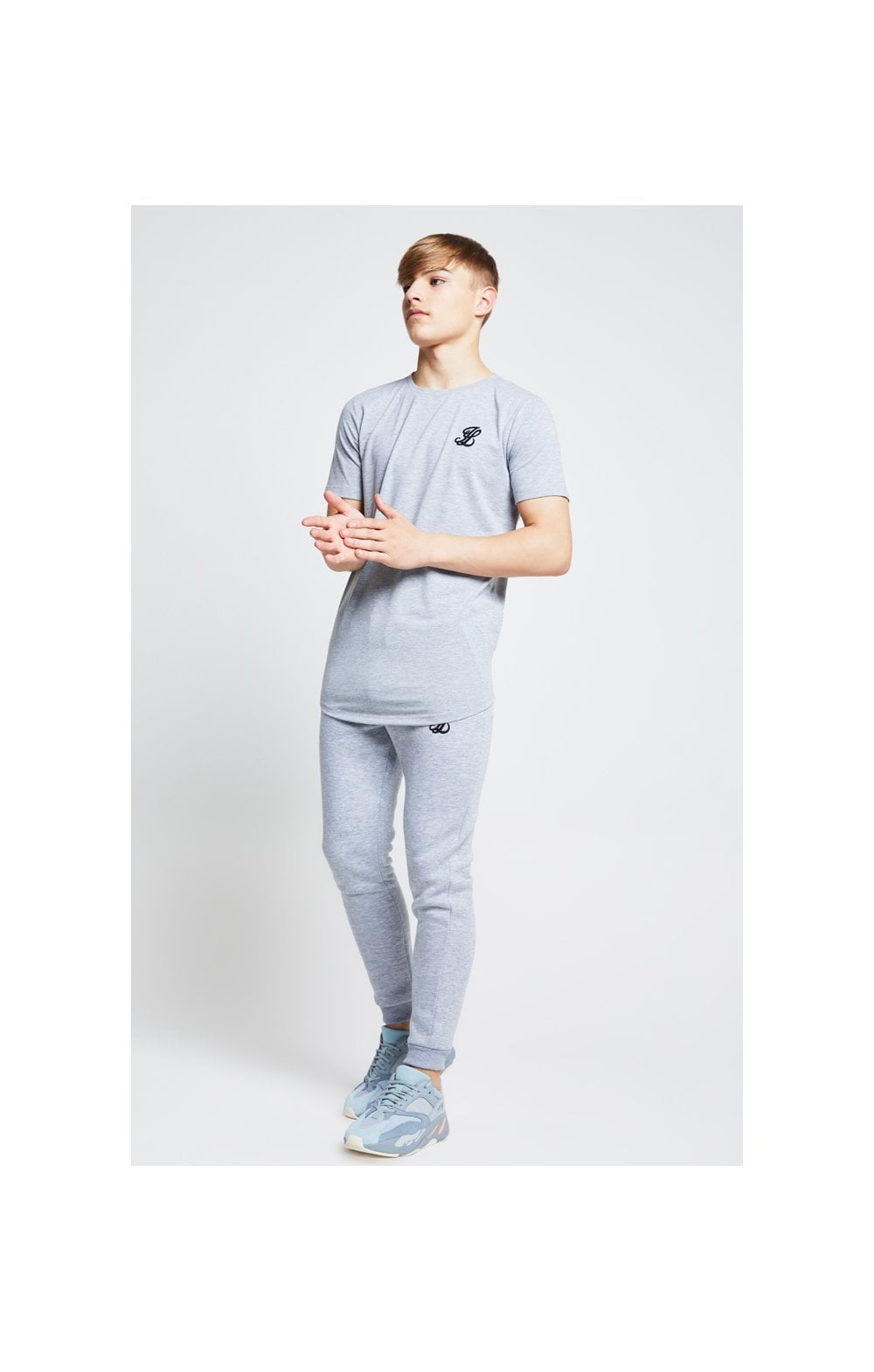 Illusive London Tee – Grey Marl (3)