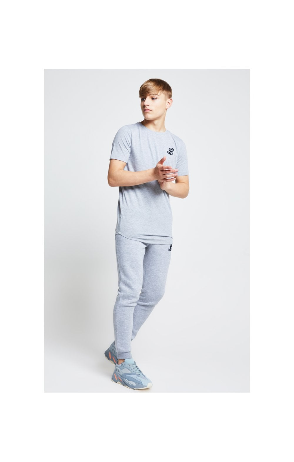Illusive London Tee – Grey Marl (4)