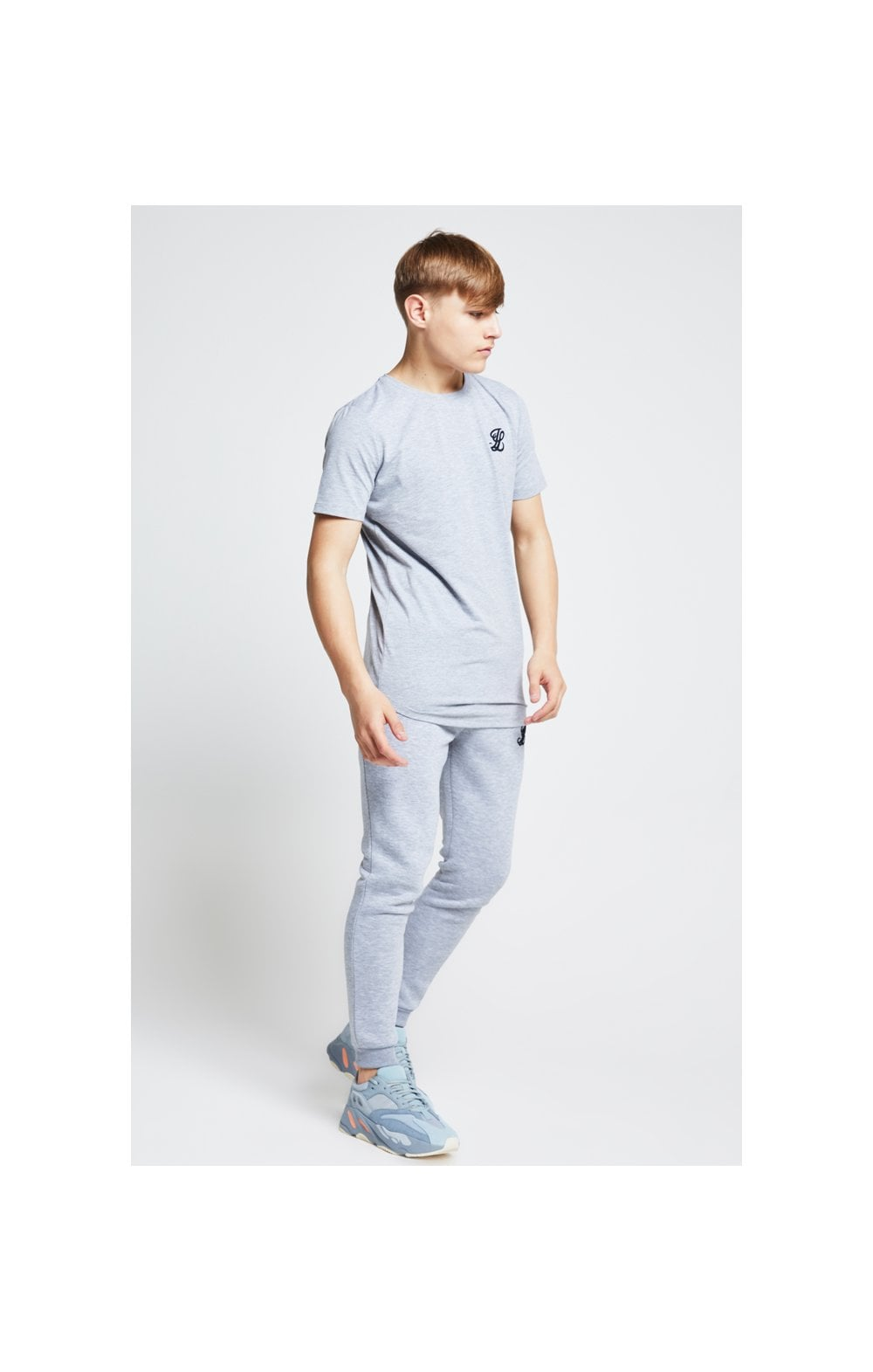 Illusive London Tee – Grey Marl (5)