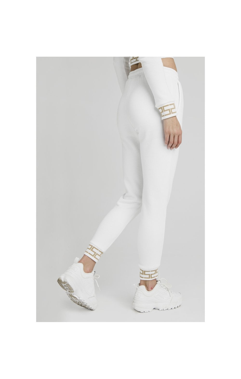 Load image into Gallery viewer, SikSilk Luxury Joggers - White (5)