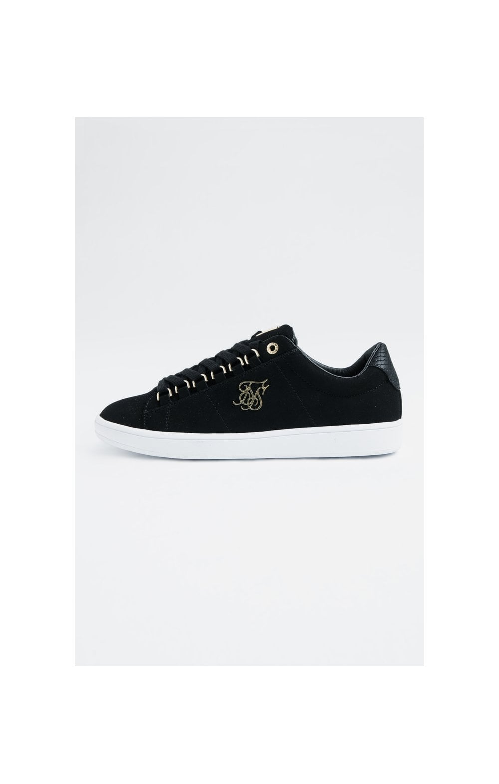 SikSilk Prestige Low Suede - Black