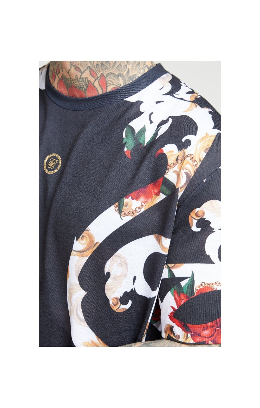 Load image into Gallery viewer, SikSilk Essential Tee - Floral Elegance