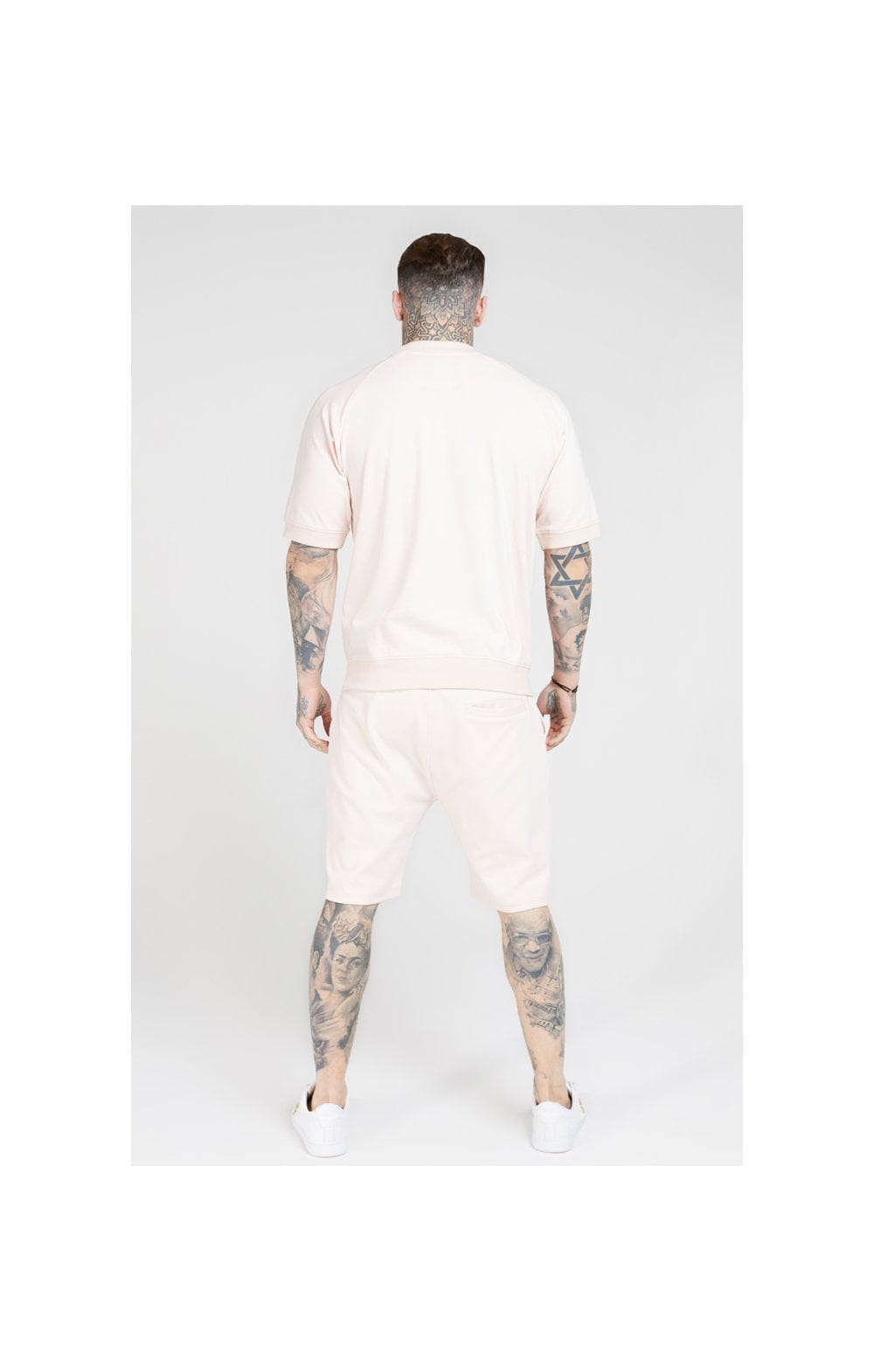 SikSilk Relaxed Shorts - Cloudy Pink (5)