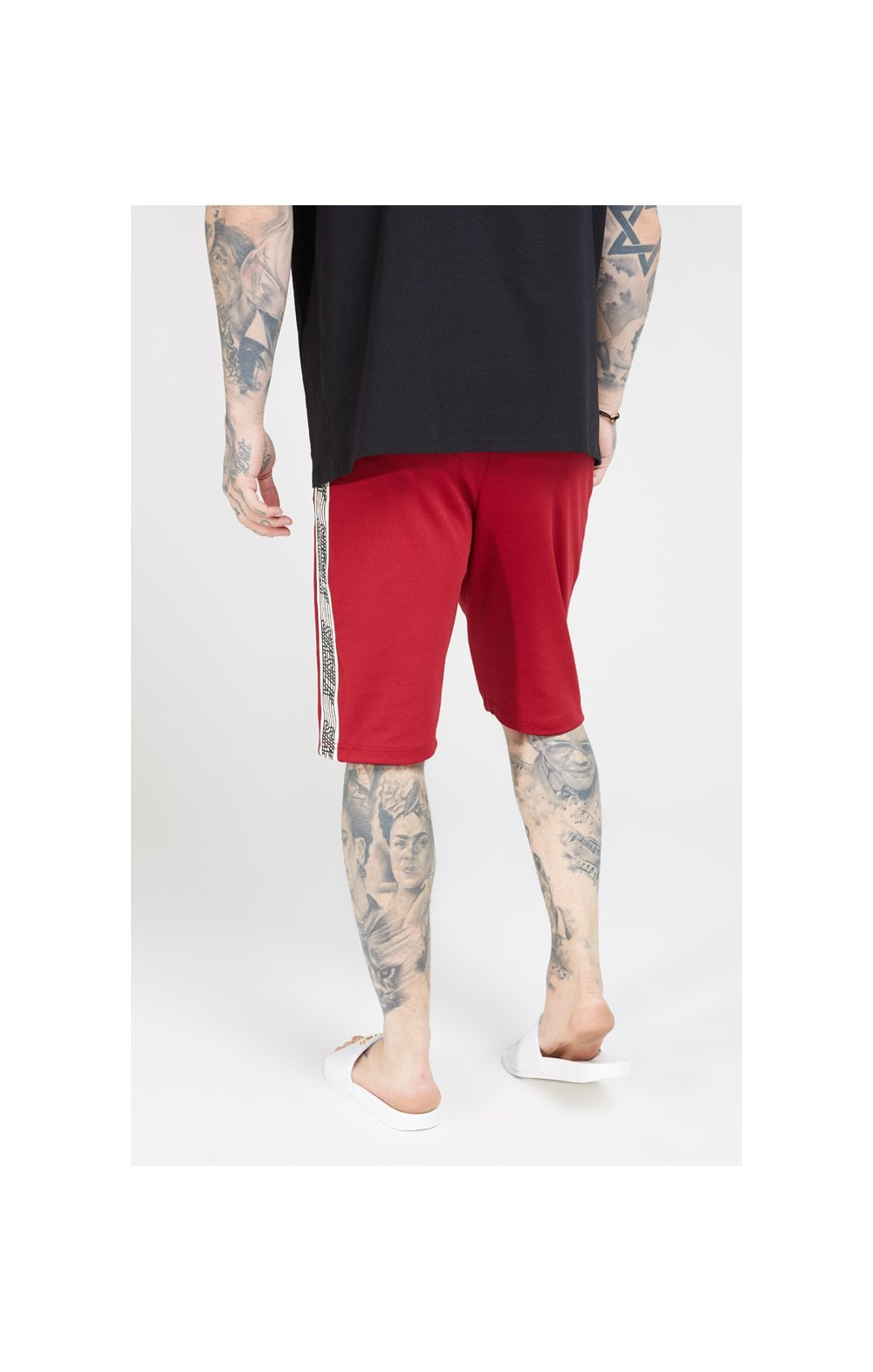 Load image into Gallery viewer, SikSilk Zonal Runner Shorts - Jester Red (3)