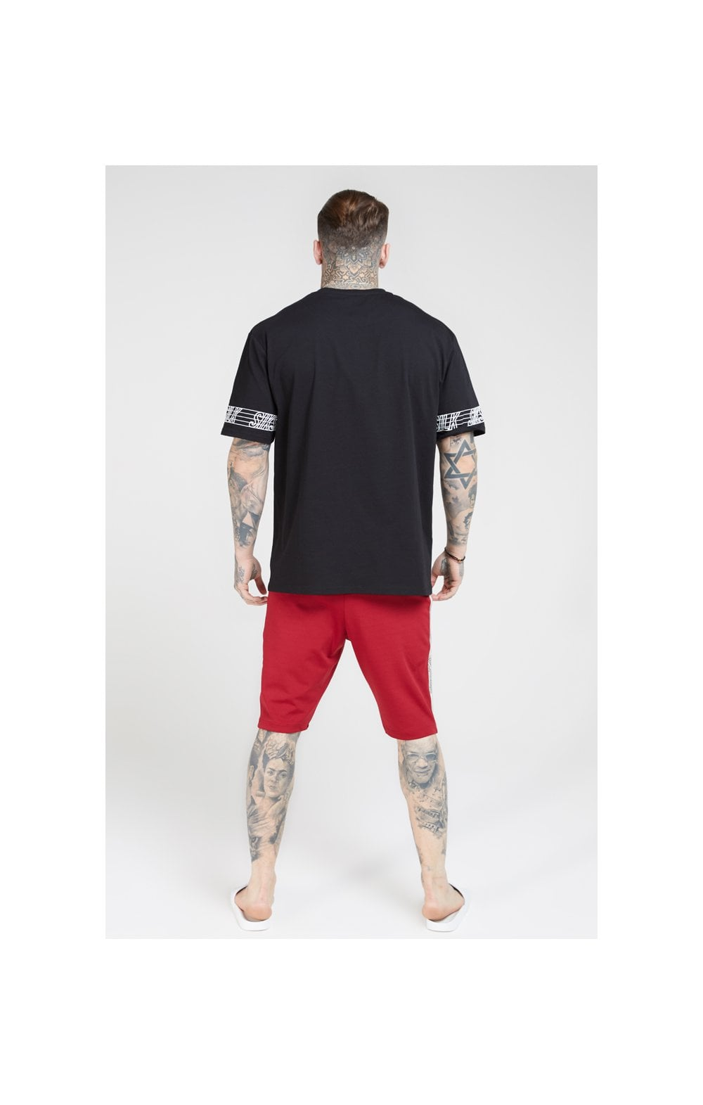 Load image into Gallery viewer, SikSilk Zonal Runner Shorts - Jester Red (5)