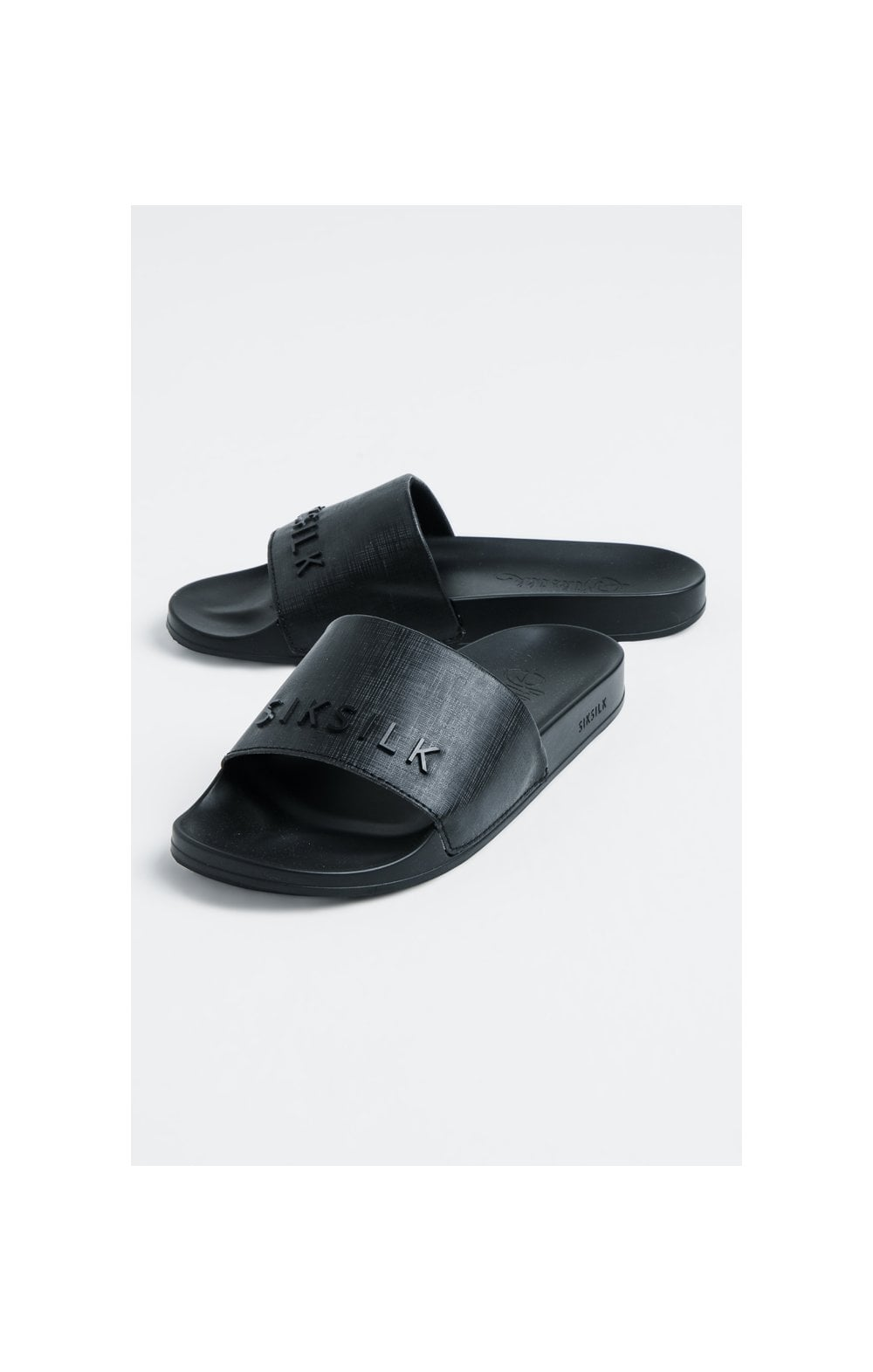 SikSilk Roma Slides – Black