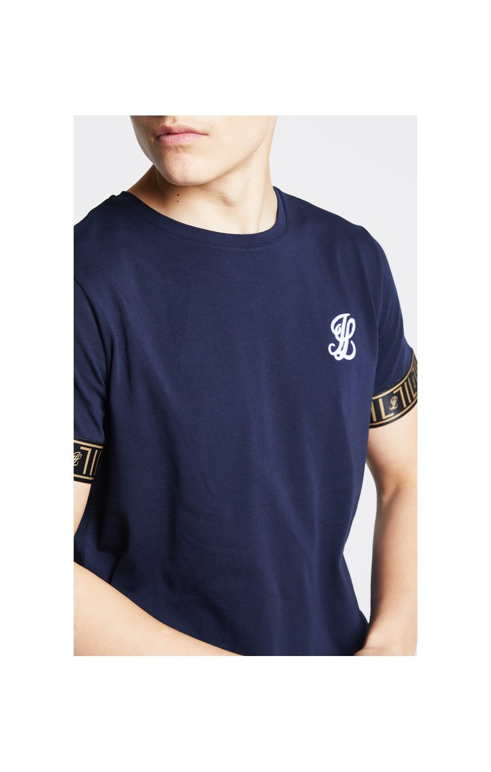 Load image into Gallery viewer, Illusive London Tech Tee - Navy