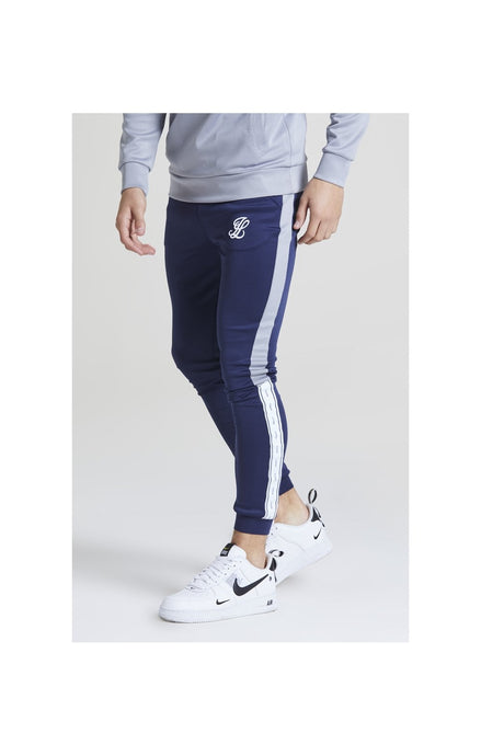 Illusive London Taped Joggers - Navy & Grey