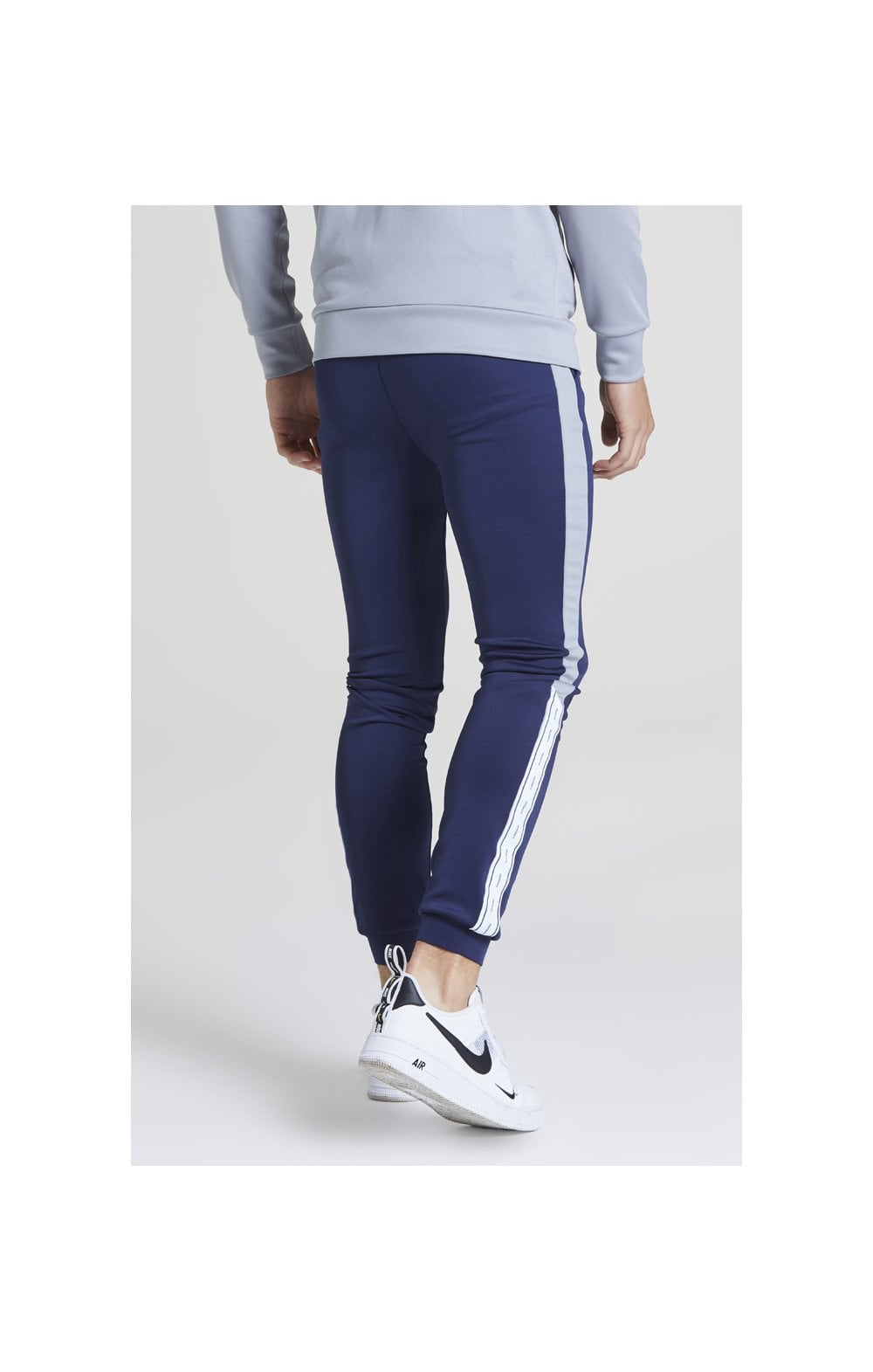 Illusive London Taped Joggers - Navy & Grey (2)