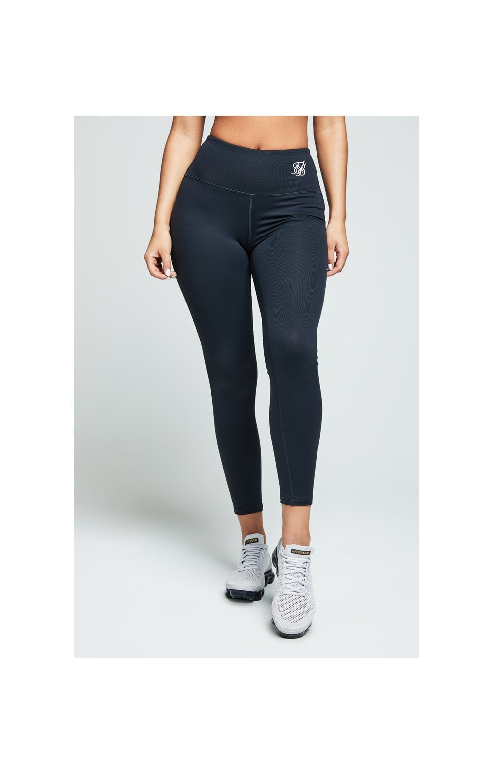 SikSilk Gym Leggings – Charcoal