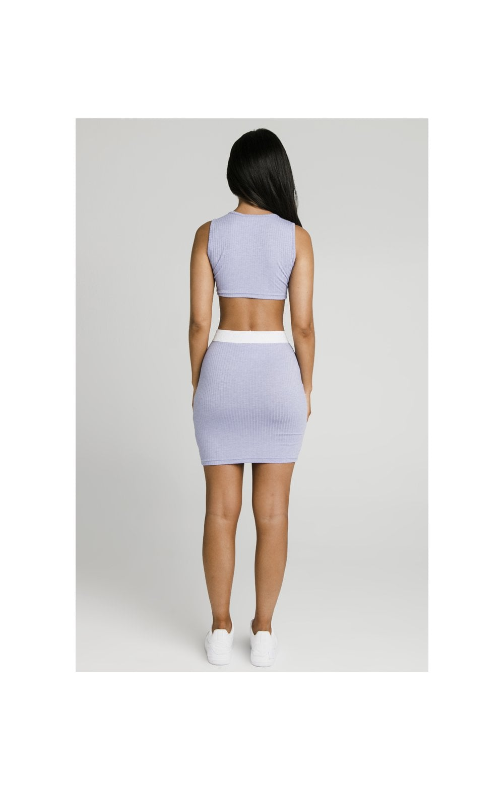 Load image into Gallery viewer, SikSillk Rib Tube Skirt - Violet (6)