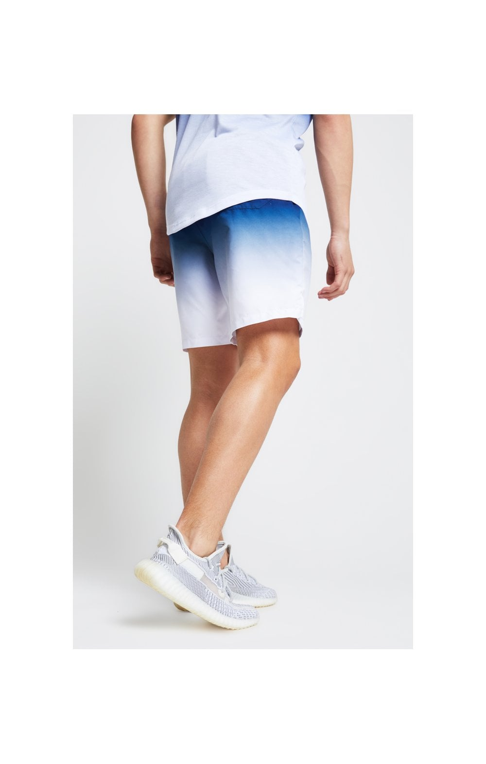 Load image into Gallery viewer, Illusive London Fade Swim Shorts - Navy & White (2)