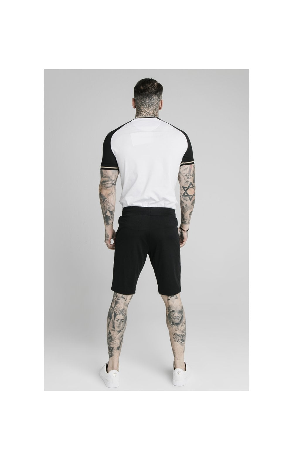 SikSilk Scope Zonal Shorts - Black & Gold (6)
