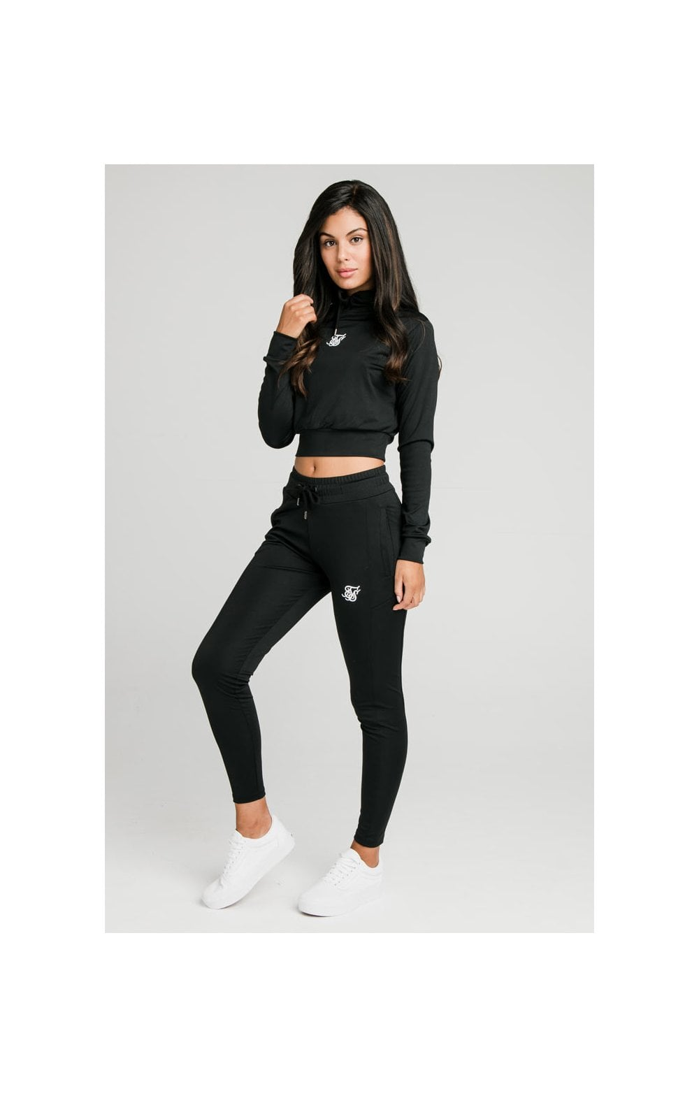 SikSilk Zonal Track Pants – Black (3)
