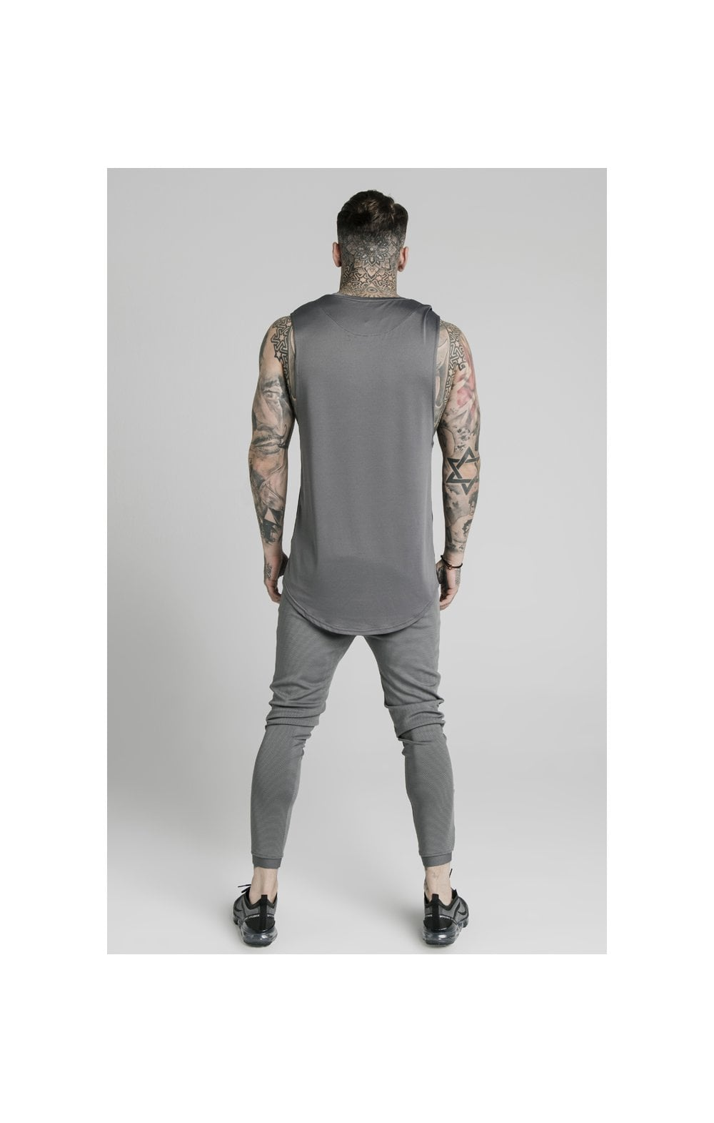 SikSilk Active Poly Sports Vest - Grey (4)