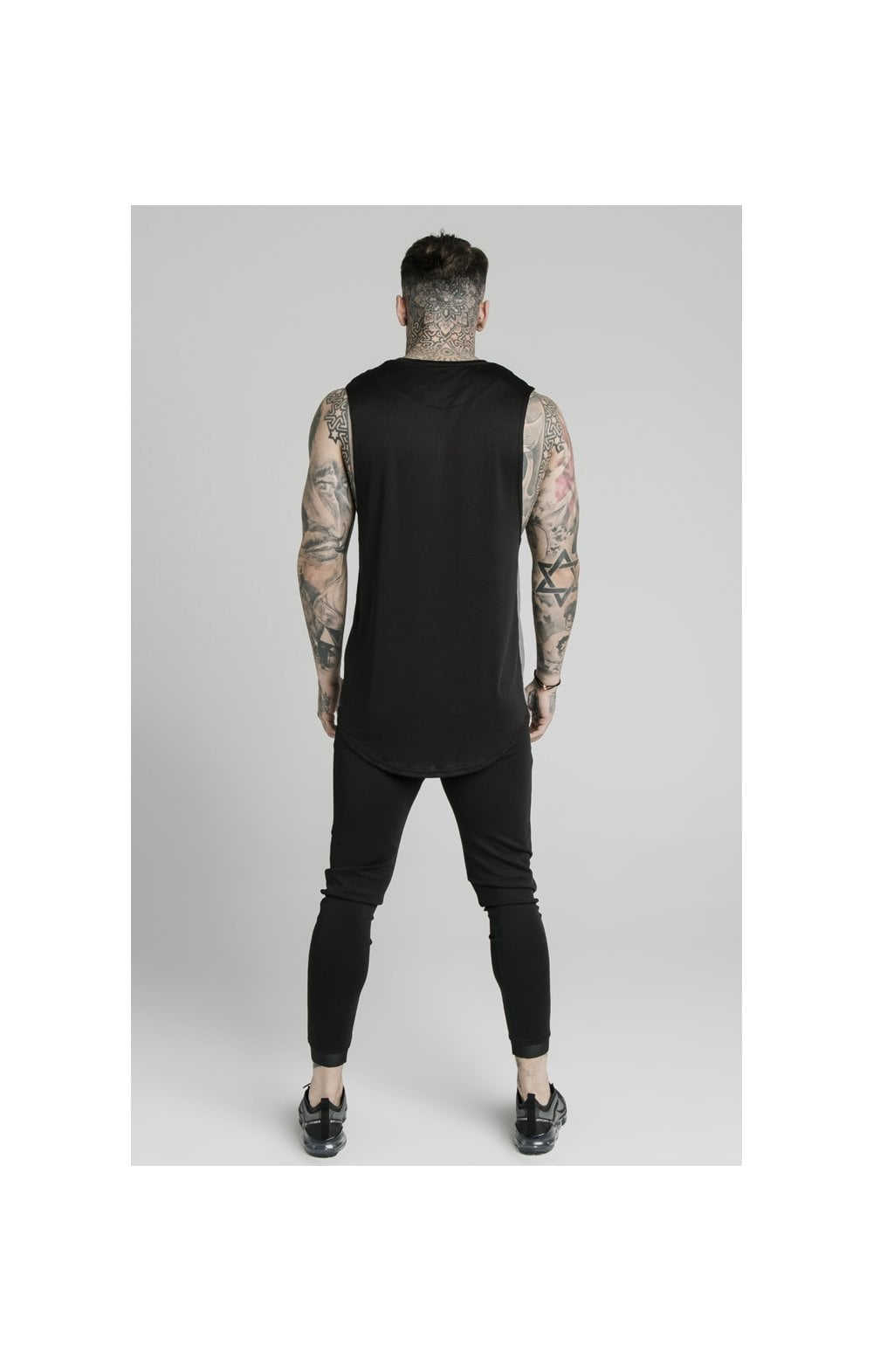 SikSilk Active Poly Sports Vest - Black (5)