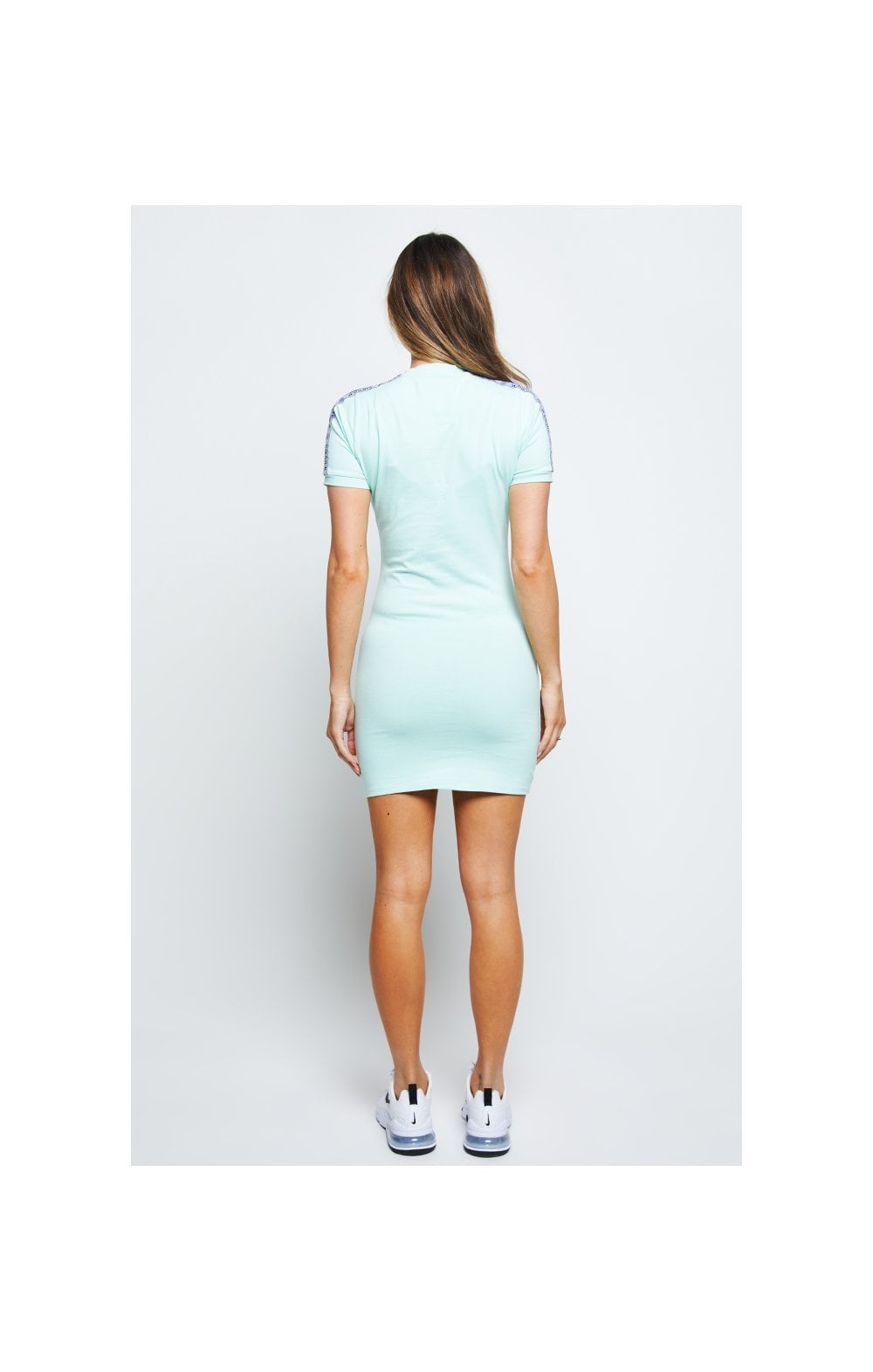 Load image into Gallery viewer, SikSilk Tape Bodycon Dress – Mint (4)