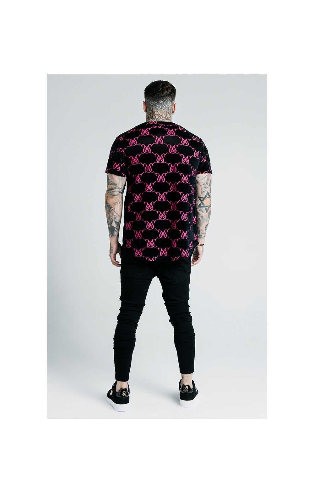 Load image into Gallery viewer, SikSilk x Dani Alves Low Rise Prestige Denims - Black (6)