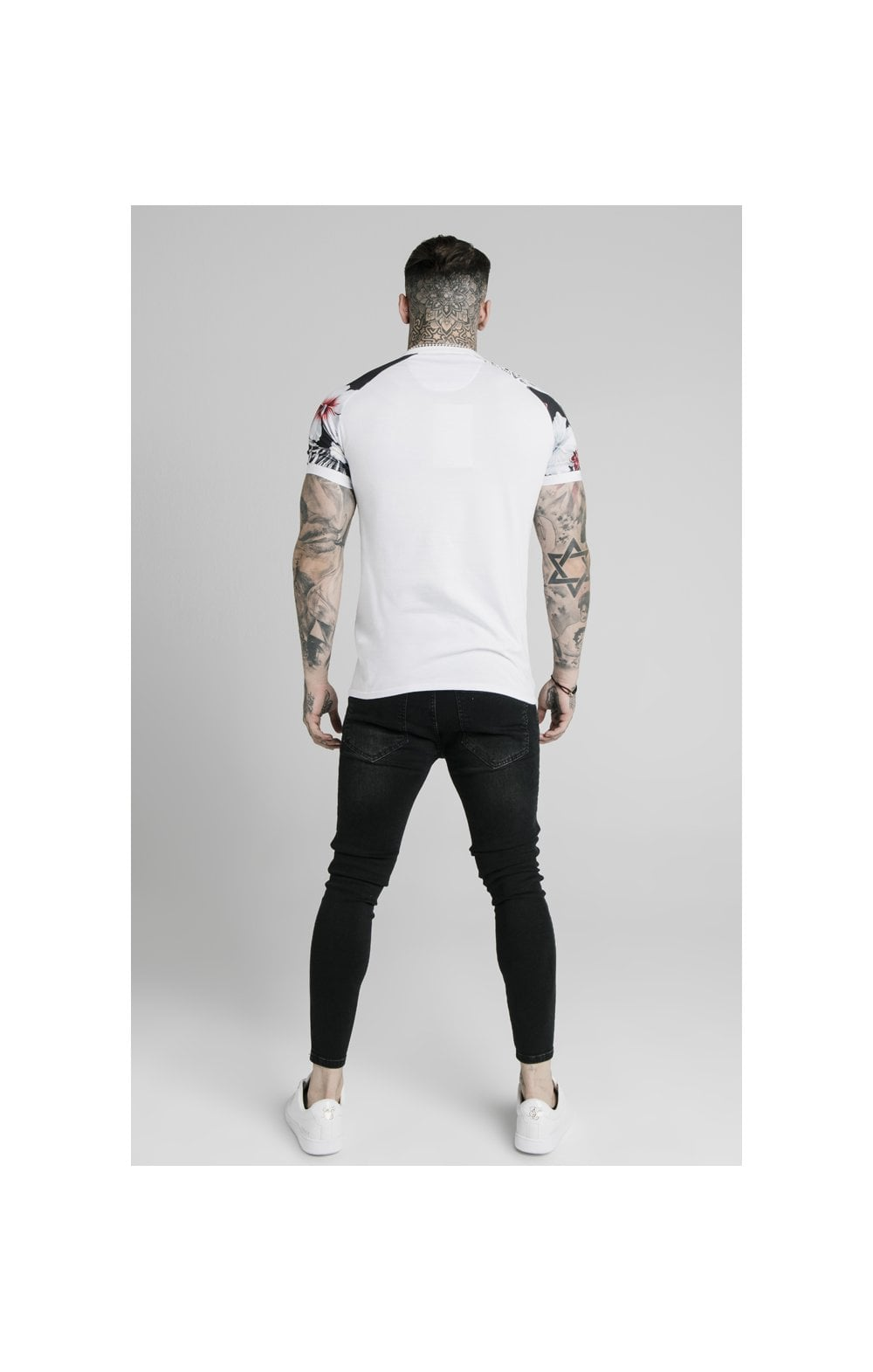Load image into Gallery viewer, SikSilk S/S Tech Polo - White (4)