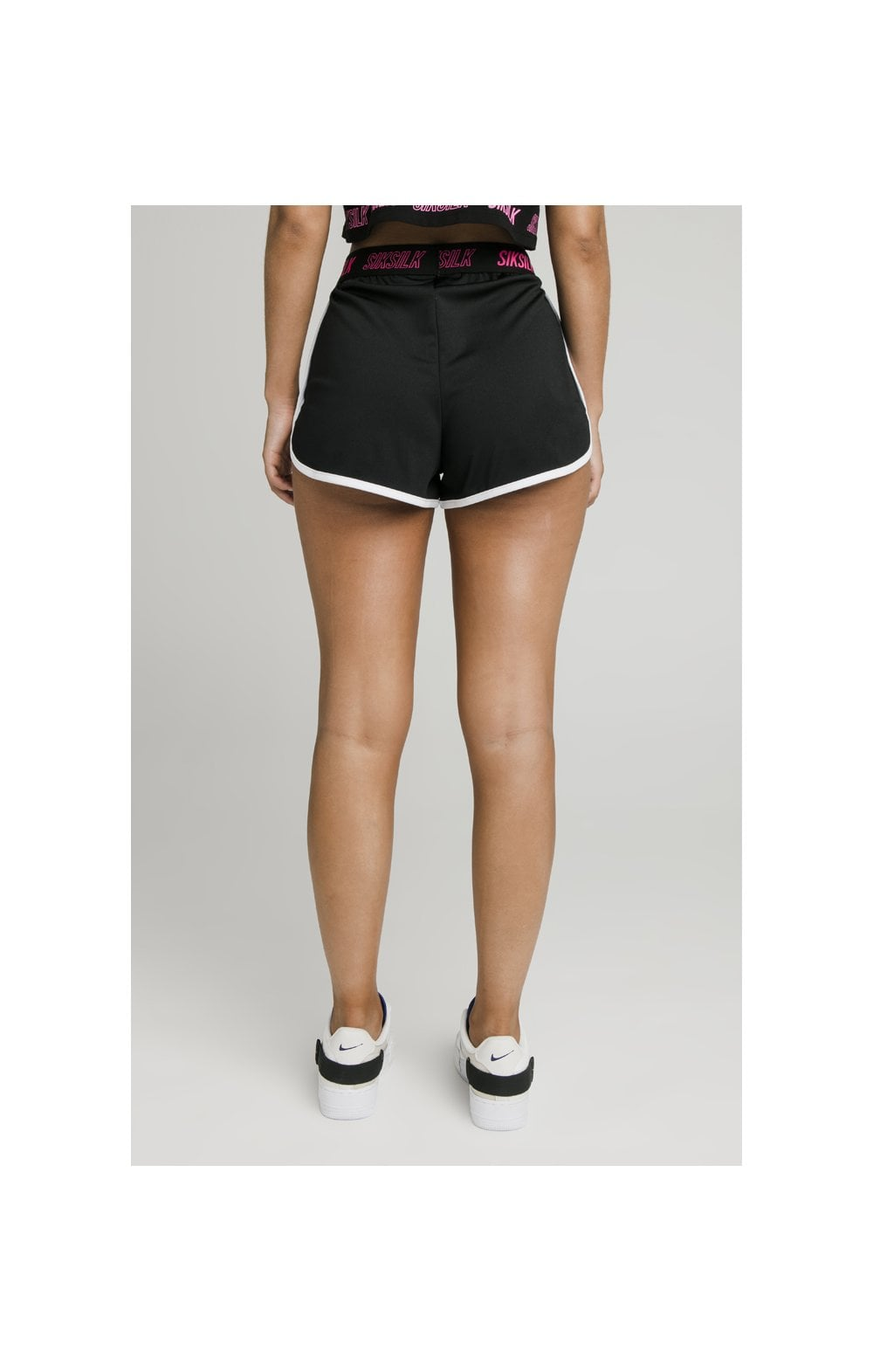 SikSilk Tape Runner Shorts - Black (3)